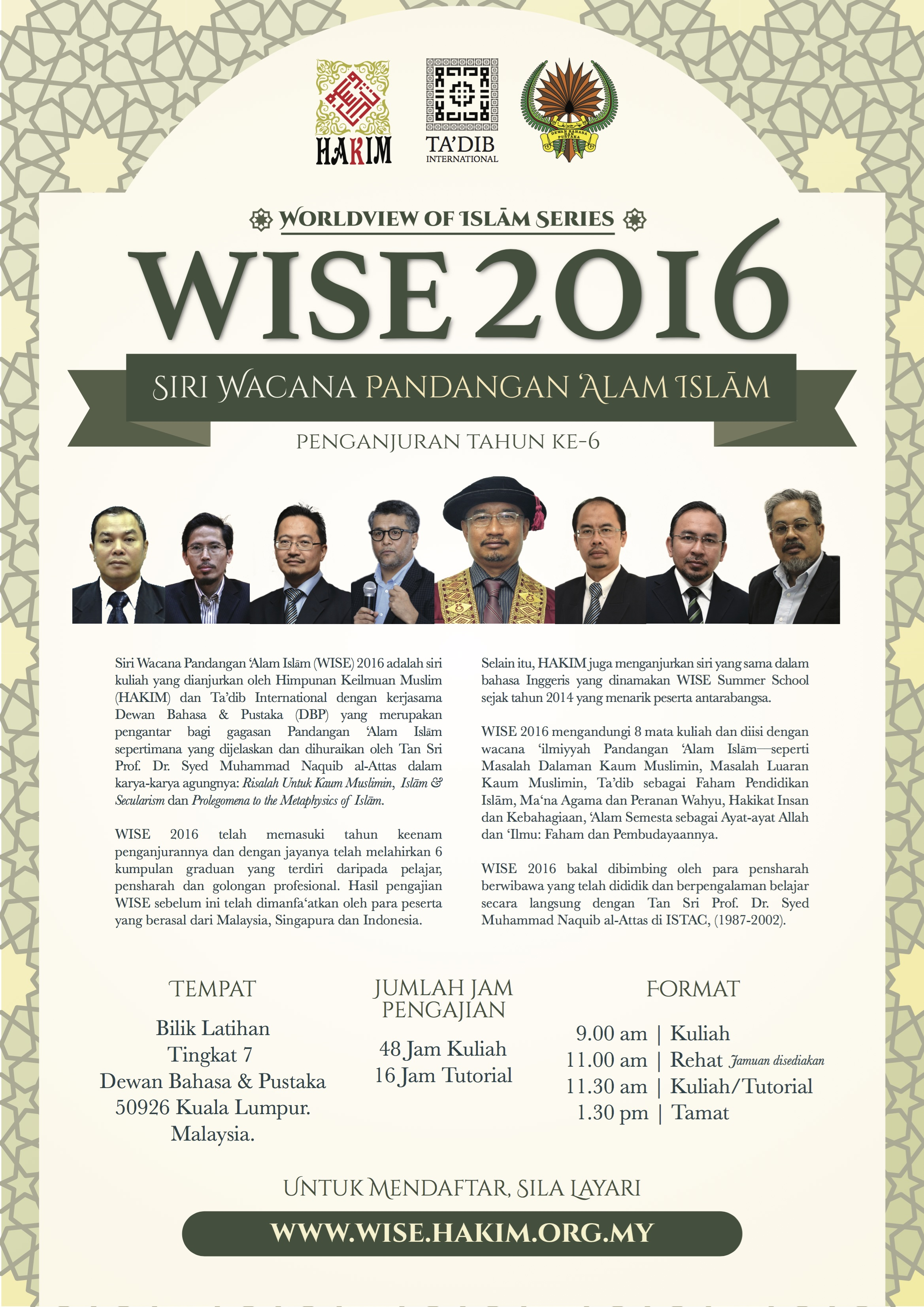 Poster WISE 2016